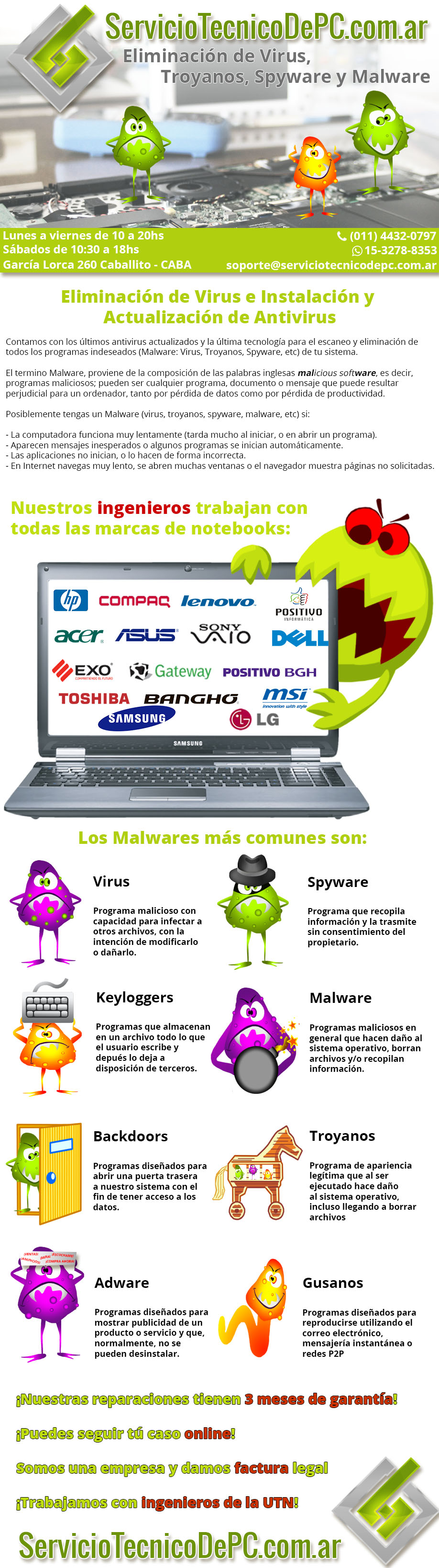 eliminacion virus reinstalar windows