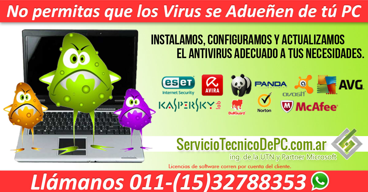 eliminacion de virus: