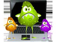 Recuperación de archivos eliminados por virus
