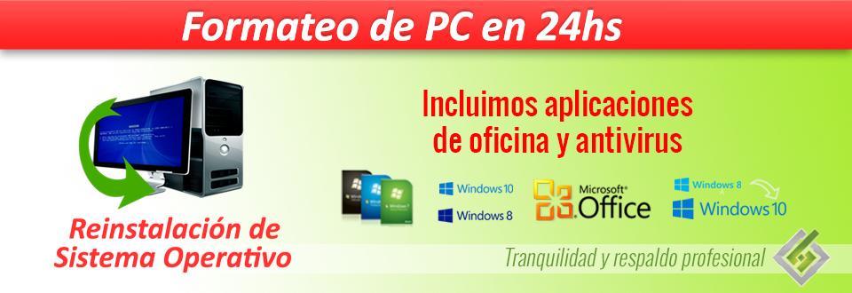 Re instalacion windows Formateo